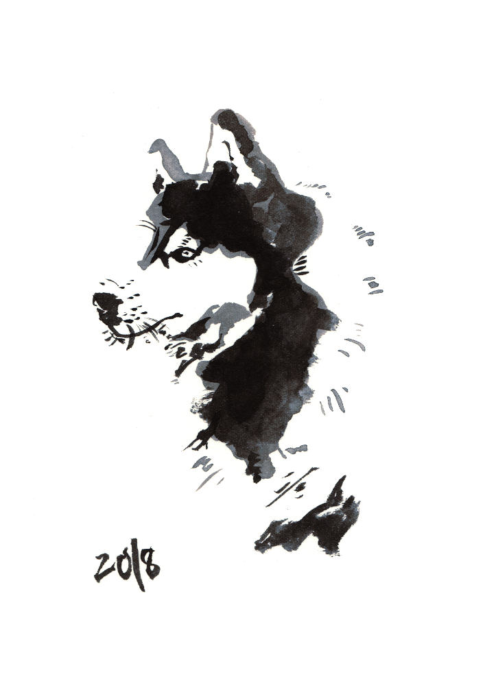 Huskey (A Year of Dog 2018)